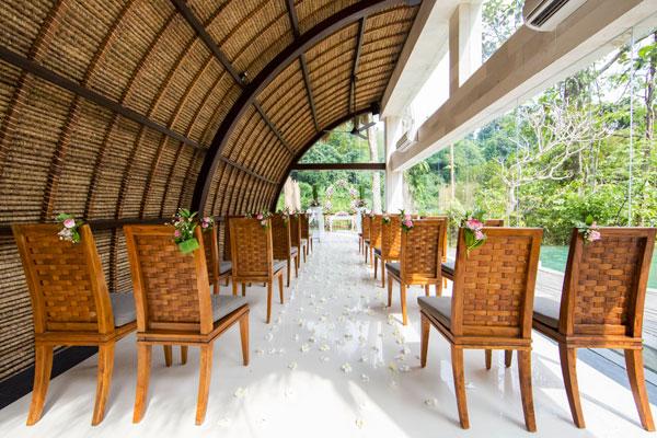 Wedding Chapel - The Lokha Ubud Resort, Villas and Spa