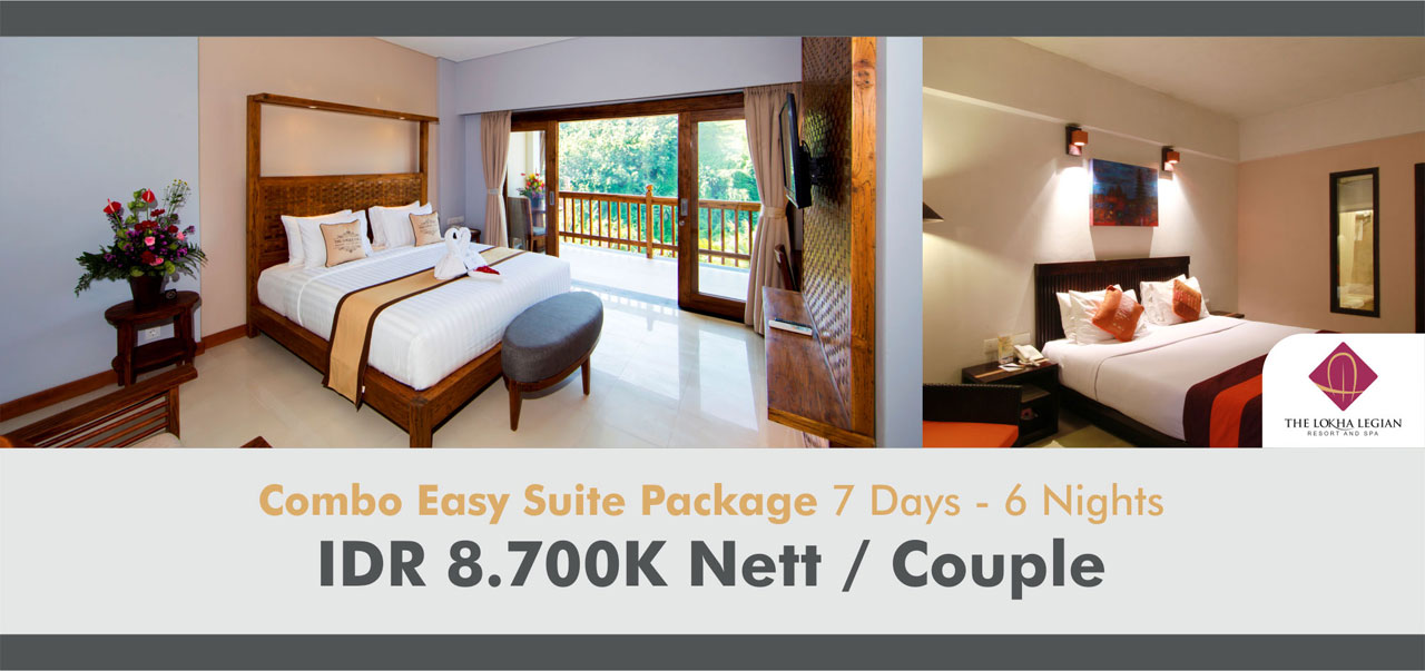 Combo Easy Suite Package 7 Days - 6 Nights