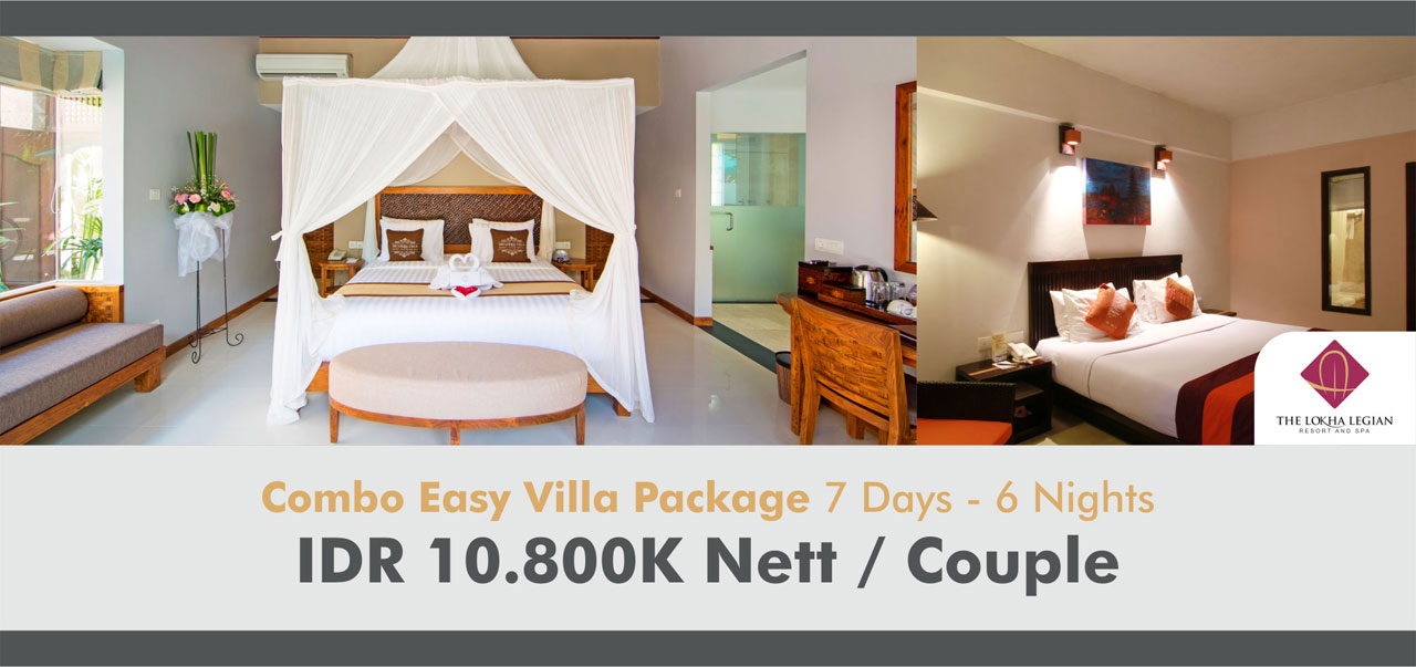 Combo Easy Villa Package 7 Days - 6 Nights