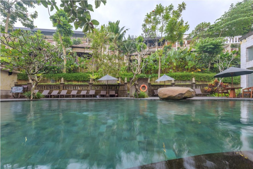 Swimming Pool - The Lokha Ubud Resort, Villas and Spa