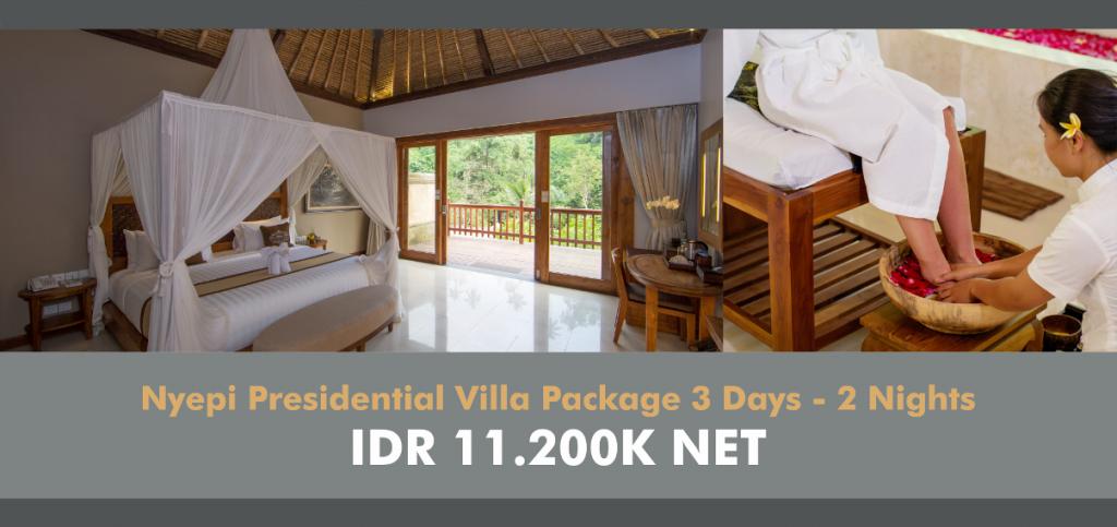 Web Banner Nyepi - presidential villa