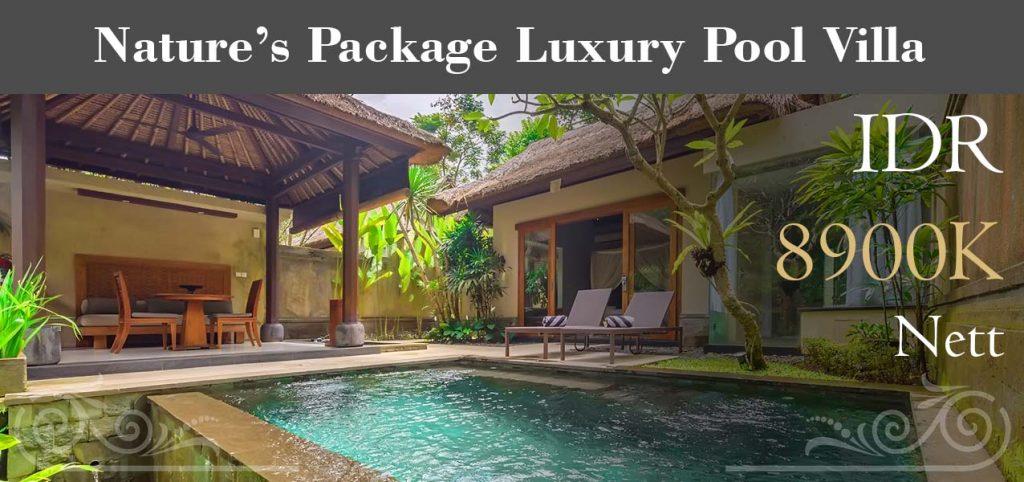 The Lokha Ubud - NatureGÇÖs Package Luxury Pool Villa