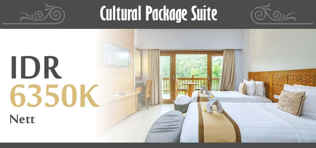 The Lokha Ubud - Cultural Package Suite