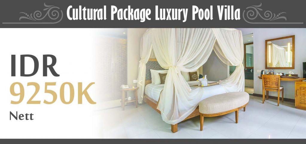 The Lokha Ubud - Cultural Package Luxury Pool Villa