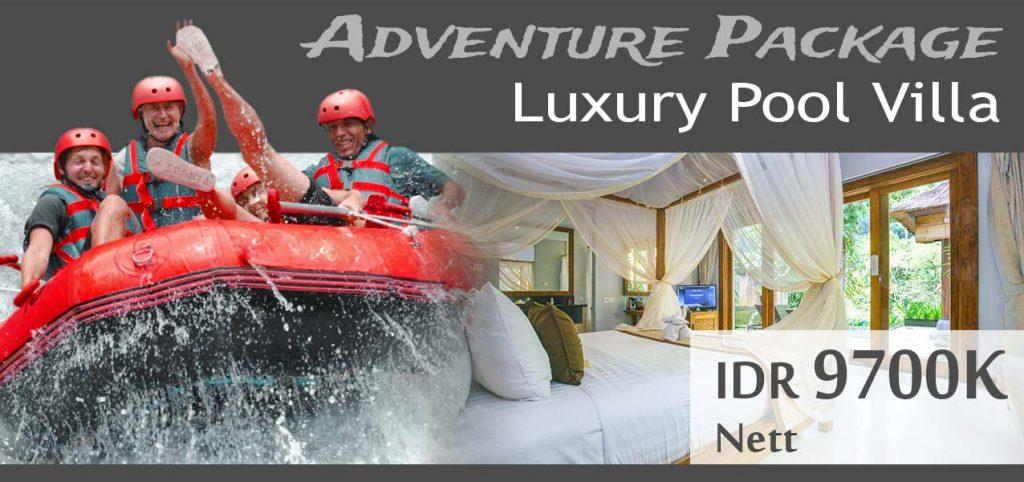The Lokha Ubud - Adventure Package Luxury Pool Villa
