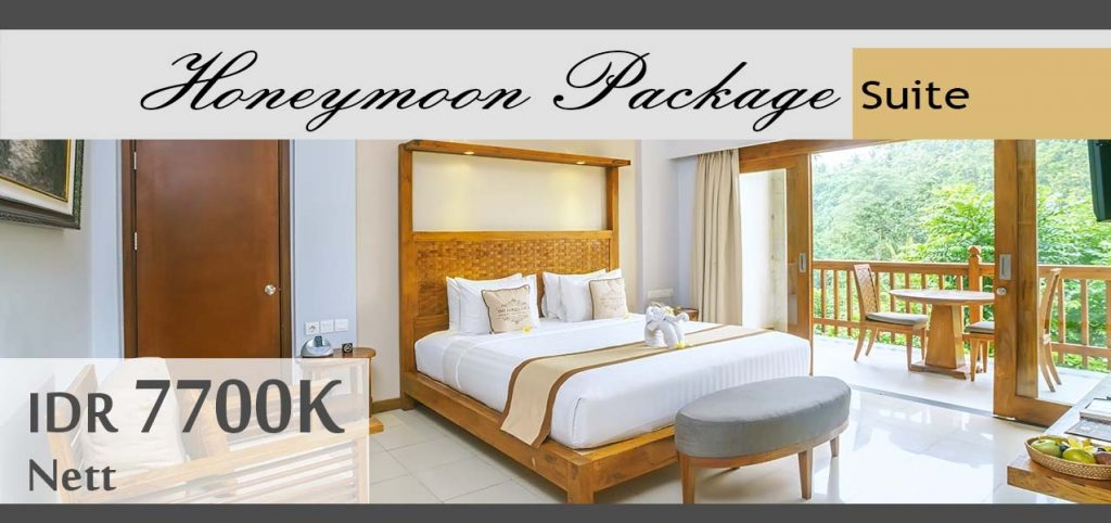 The Lokha Ubud - Honeymoon Package Suite
