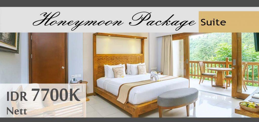 The Lokha Ubud - Honeymoon Package Suite